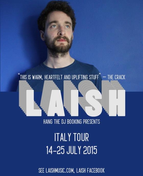 Laish Italy 15 tour announcement
