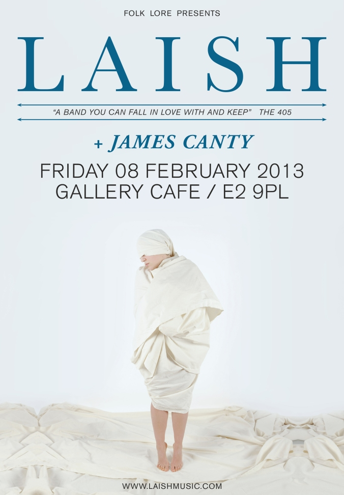 Laish_gallerycafe_A3 James canty poster