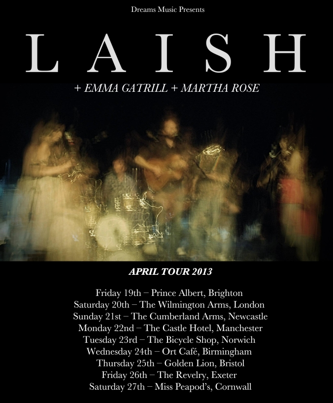 laish april tour 2013