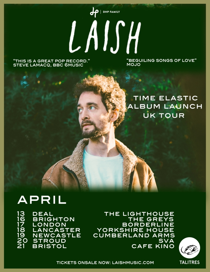 Laish time elastic tour poster 1